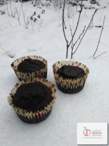 Muffiny wytrawne z marchewką, bezglutenowe