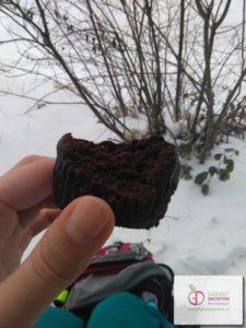Muffiny wytrawne z marchewką, bezglutenowe super przekąska na wypad w góry