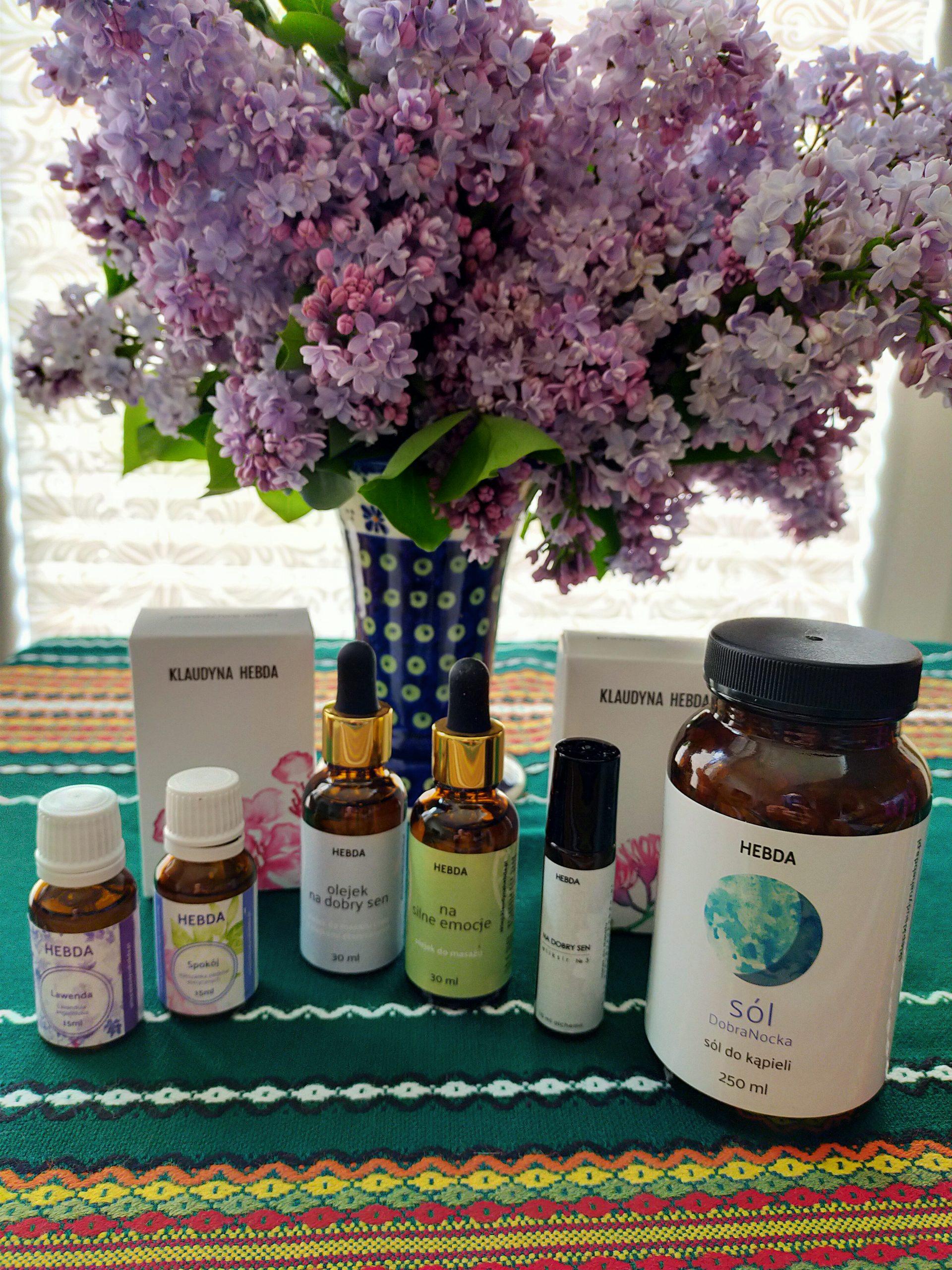 Aromaterapia na stres i jelita.